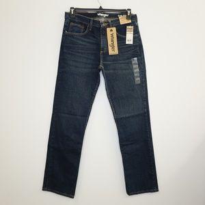 Wrangler Slim Straight Blue Denim Jeans 32x32 NEW